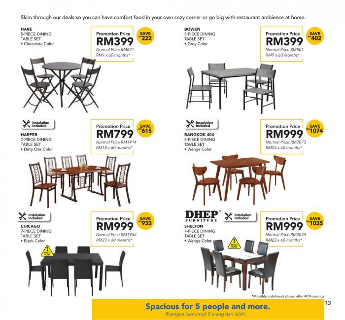 COURTS Furniture Promotion Catalogue (6 December 2018 - 30 January 2019)