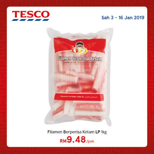 Tesco Malaysia REKOMEN Promotion published on 7 January 2019