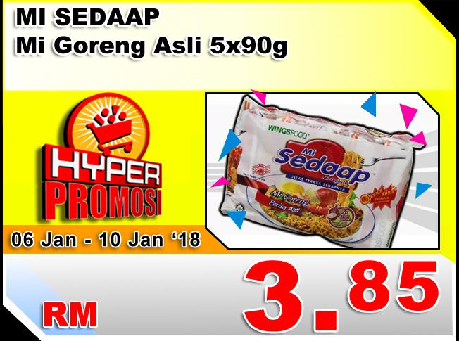 Sabasun Hyper Promotion (6 January 2019 - 10 January 2019)