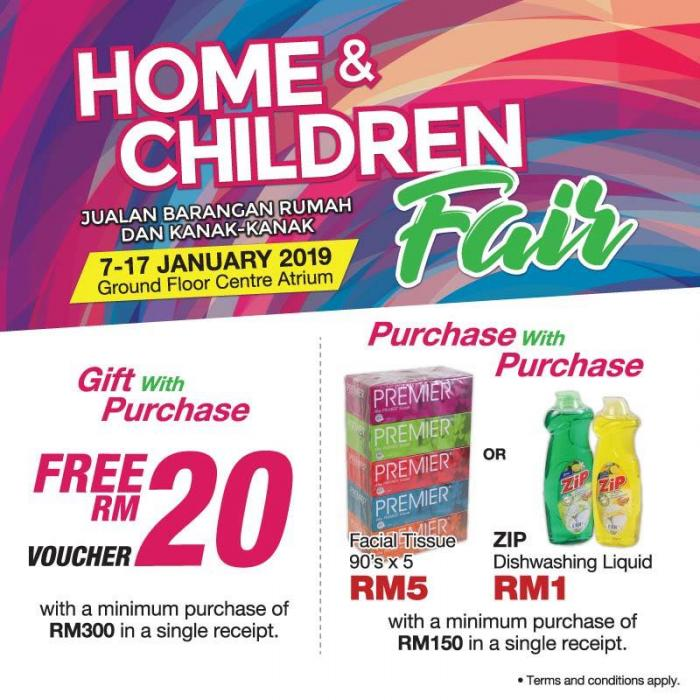 SOGO Home & Children Fair (7 January 2019 - 17 January 2019)