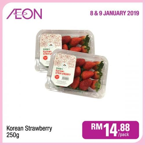 AEON Day Promotion (8 January 2019 - 9 January 2019)