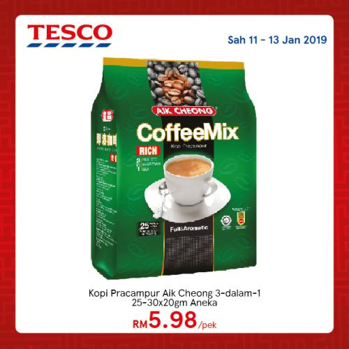Tesco Malaysia REKOMEN Promotion published on 11 January 2019