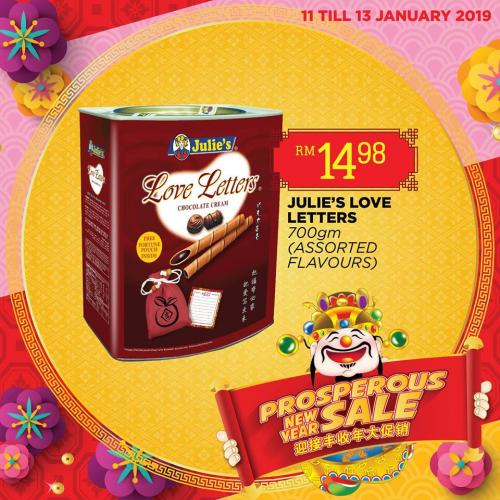The Store and Pacific Hypermarket Chinese New Year Promotion (11 January 2019 - 13 January 2019)