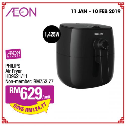 AEON Chinese New Year Electrical Promotion (11 January 2019 - 10 February 2019)