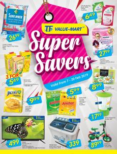 TF Value-Mart Super Savers Promotion Catalogue (7 February 2019 - 20 February 2019)