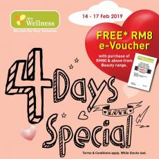 AEON Wellness 4 Days Special Promotion (14 February 2019 - 17 February 2019)