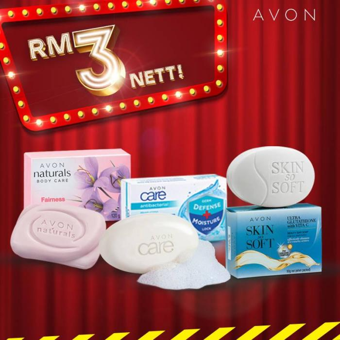 Avon February Bonanza Deals As Low As RM3 (22 February 2019 - 28 February 2019)