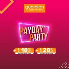 Guardian Online Exclusive Payday Party Promotion (25 March 2019 - 28 March 2019)
