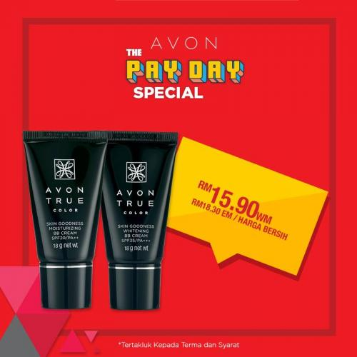 Avon Pay Day Promotion (25 March 2019 - 31 March 2019)