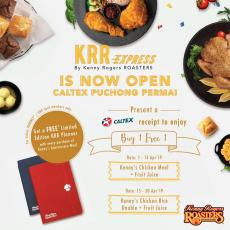 KRR Express Caltex Puchong Permai Opening Promotion Buy 1 FREE 1 (1 April 2019 - 30 April 2019)