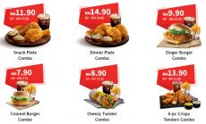 KFC Self Collect Exclusive Discount (1 April 2019 - 4 May 2019)