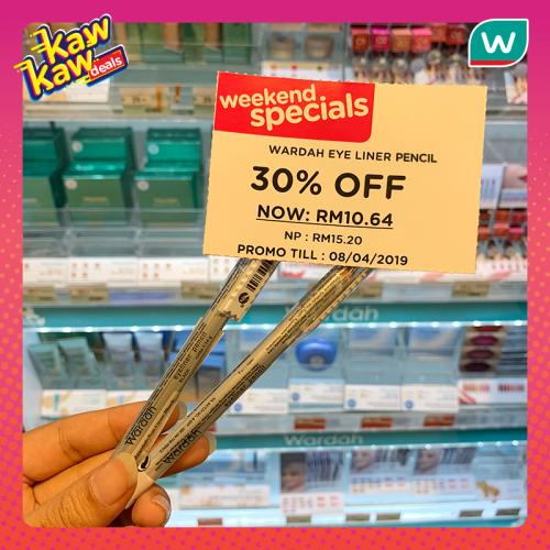 Watsons Weekend Promotion (5 April 2019 - 8 April 2019)