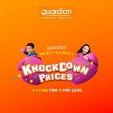 Guardian Knockdown Prices Promotion (5 April 2019 - 7 April 2019)