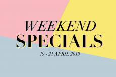 Sasa Weekend Promotion (19 April 2019 - 21 April 2019)