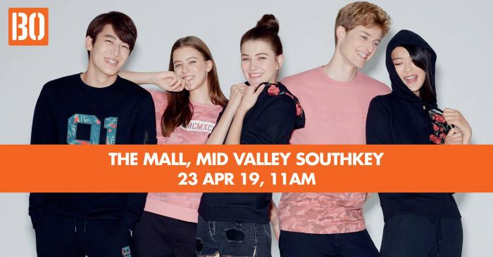 Brands Outlet The Mall Mid Valley Southkey Opening Promotion