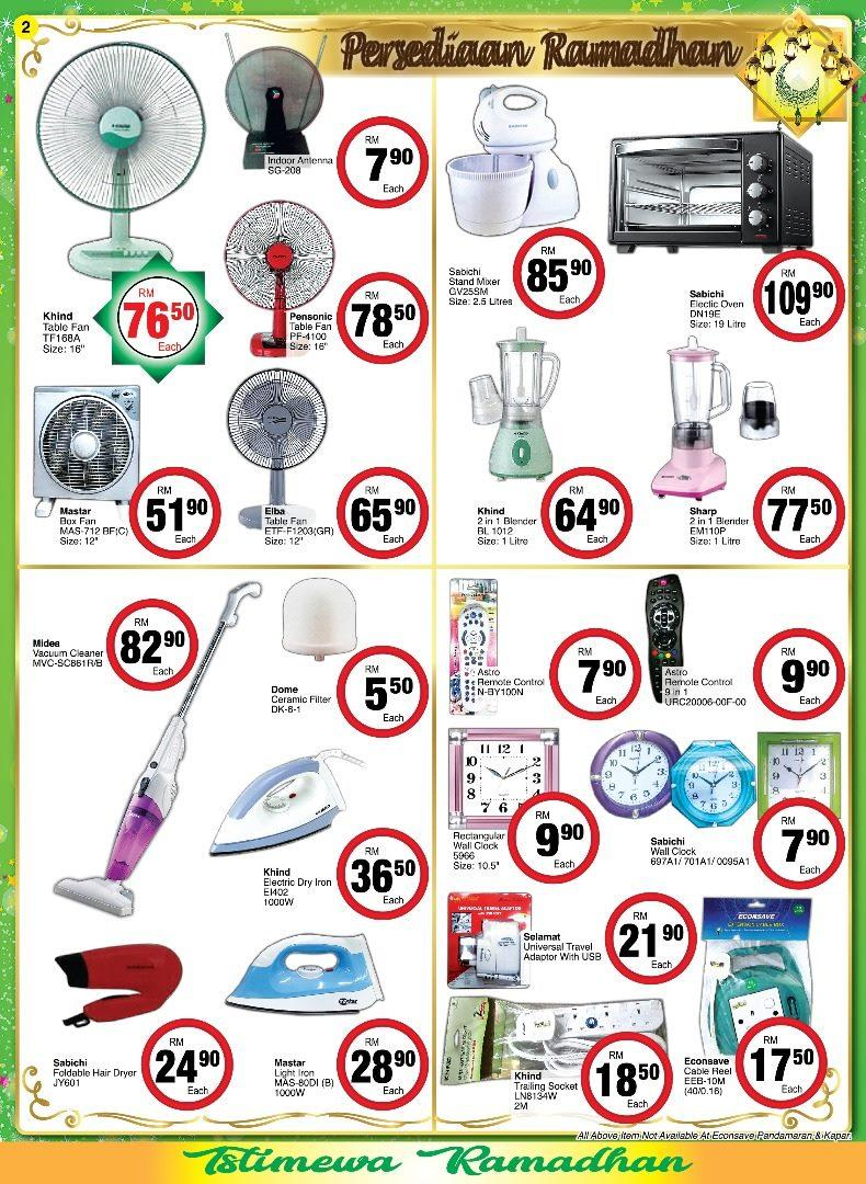 Econsave Ramadhan Household Promotion Catalogue (10 May 2019 - 6 June 2019)