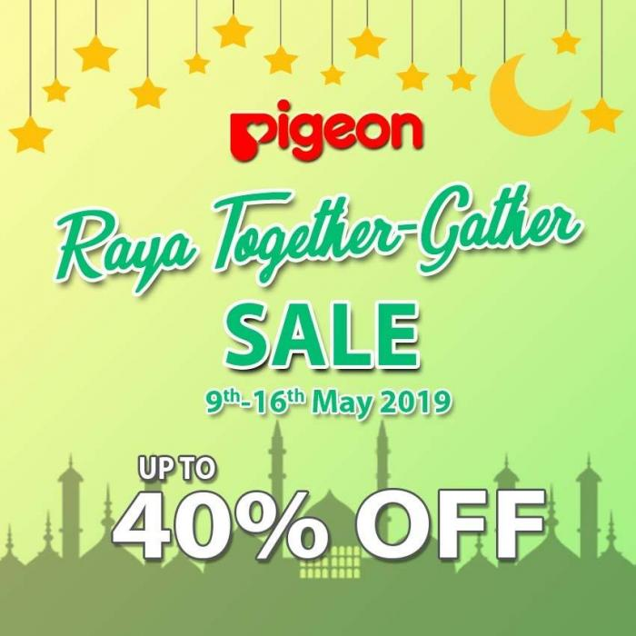 Pigeon Raya Together-Gather Sale at Lazada (9 May 2019 - 16 May 2019)