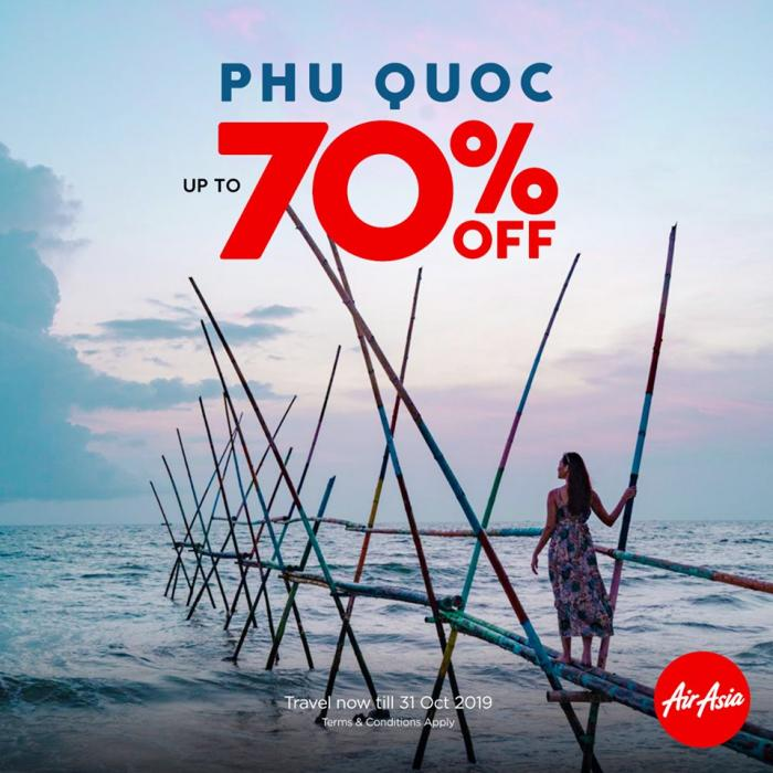 AirAsia Indochina Campaign Sale Up To 70% OFF
