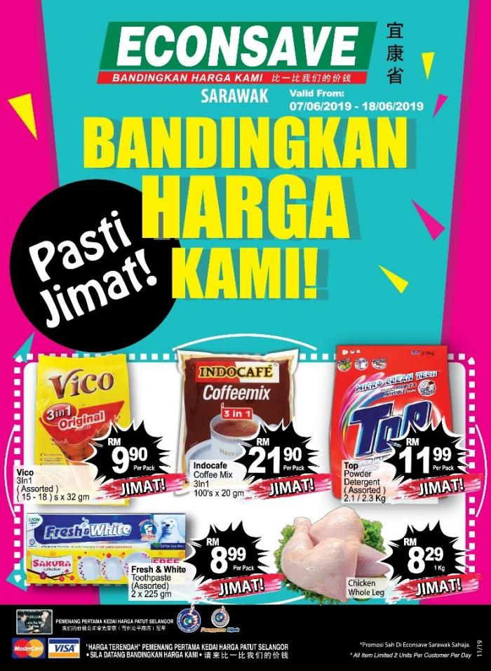 Econsave Promotion Catalogue at Sarawak (7 June 2019 - 18 June 2019)