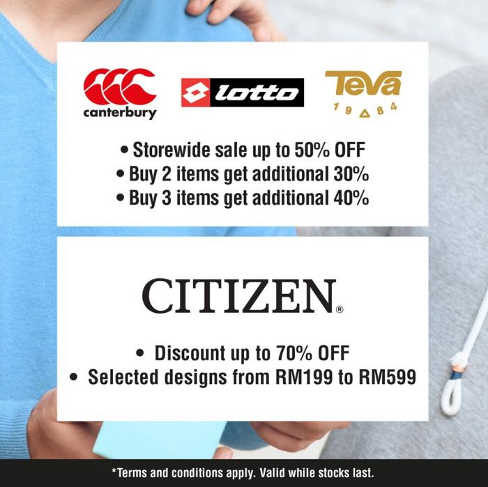 Mitsui Outlet Park KLIA Sepang Father's Day Special (14 June 2019 - 16 June 2019)