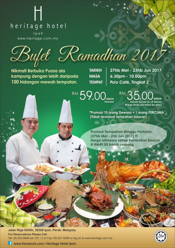 Heritage Hotel Ipoh Ramadhan Buffet Dinner Promotion