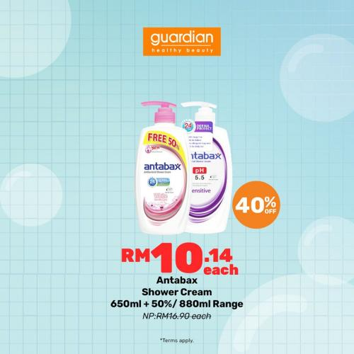Guardian Bath Fair Promotion 40% OFF (4 July 2019 - 7 July 2019)