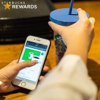 Starbucks Earn 20 Tall-Sized Beverages (16 July 2019 - 18 July 2019)