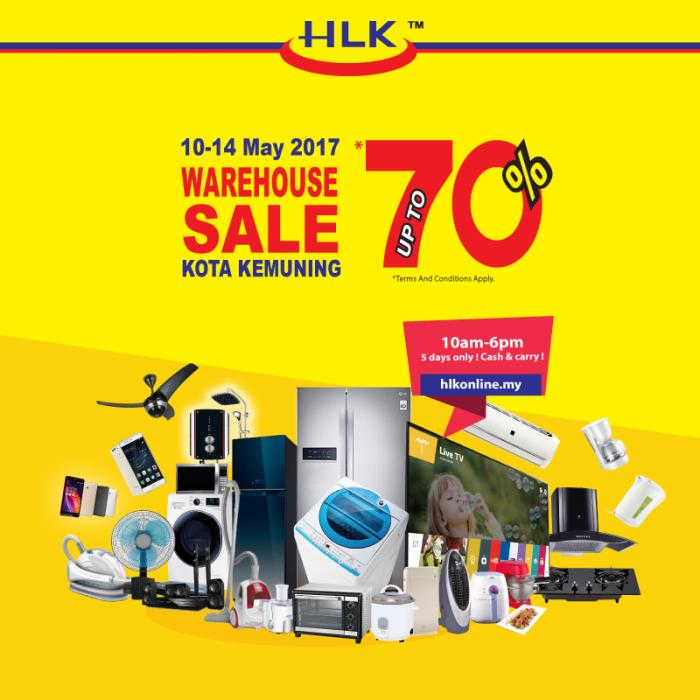 HLK Warehouse Sale Up to 70% Discount