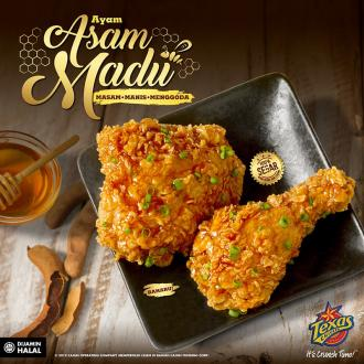 Texas Chicken New Ayam Asam Madu