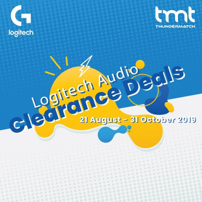 TMT Logitech Audio Clearance Deals (21 August 2019 - 31 October 2019)