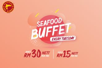 The Manhattan Fish Market Seafood Buffet only RM30 nett (every Tuesday)