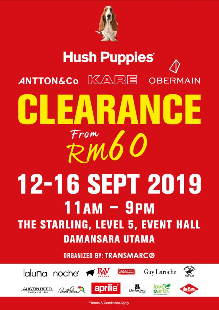 Hush Puppies Warehouse Clearance Sale