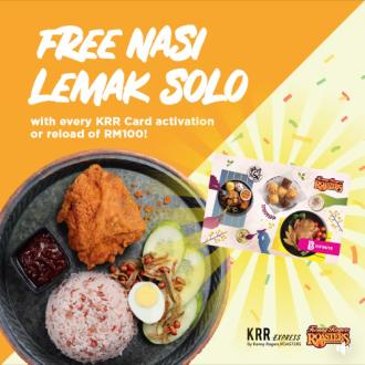 Kenny Rogers ROASTERS FREE Nasi Lemak Solo Promotion