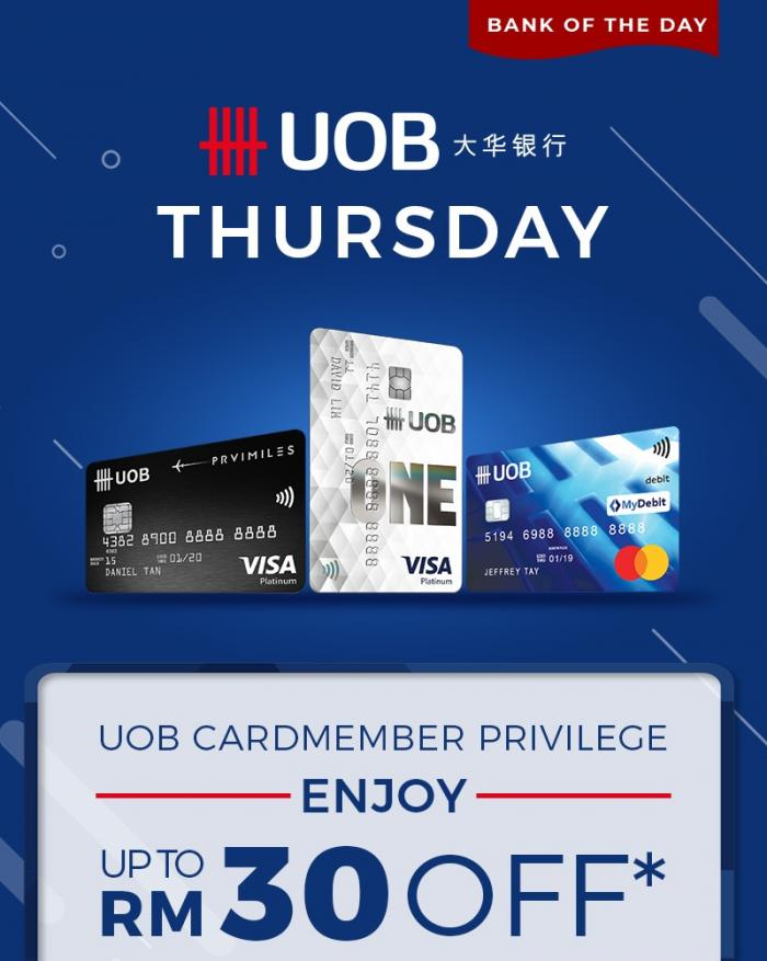 Shopee Uob Promotion Up To Rm30 Off Promo Code Every Thursday