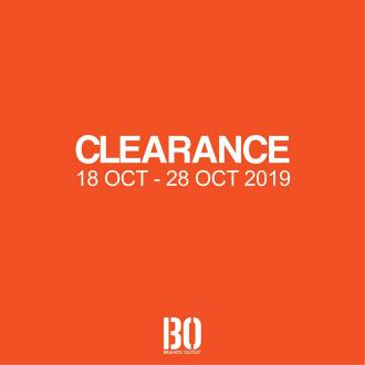 Brands Outlet Clearance Sales as low as RM10 at 2 Selected Outlets (18 October 2019 - 28 October 2019)