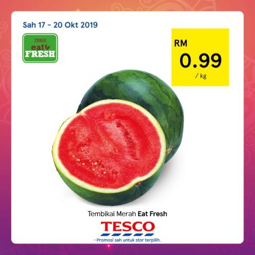 Tesco REKOMEN Promotion published on 17 October 2019