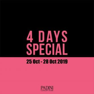 Padini Concept Store 4 Days Special Promotion As Low As RM9 (25 October 2019 - 28 October 2019)
