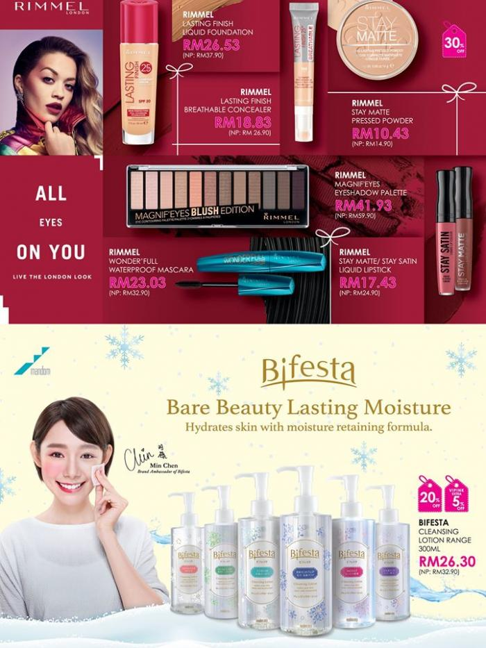 Sasa Glamorous Scent Promotion Catalogue (4 November 2019 - 31 December 2019)