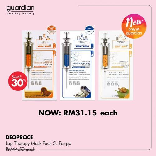 Guardian Skin Care Promotion Sales up to 50%