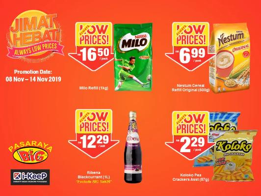 Pasaraya BiG Jimat Hebat Promotion (8 November 2019 - 14 November 2019)