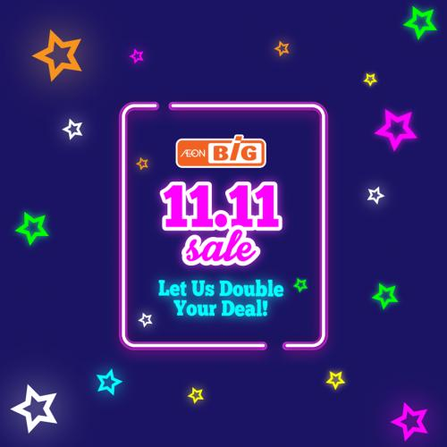 AEON BiG 11.11 Sale Promotion (11 November 2019)
