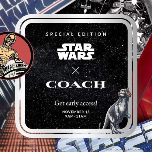 Coach Star Wars Collection Early Access at Genting Highlands Premium Outlets (15 November 2019)