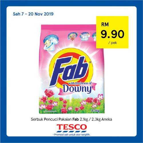Tesco REKOMEN Promotion published on 13 November 2019