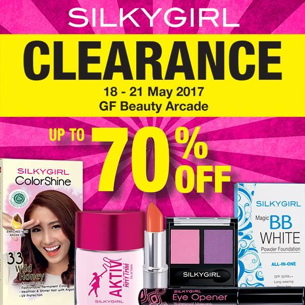 SILKYGIRL Clearance Up to 70% Off at SOGO Malaysia