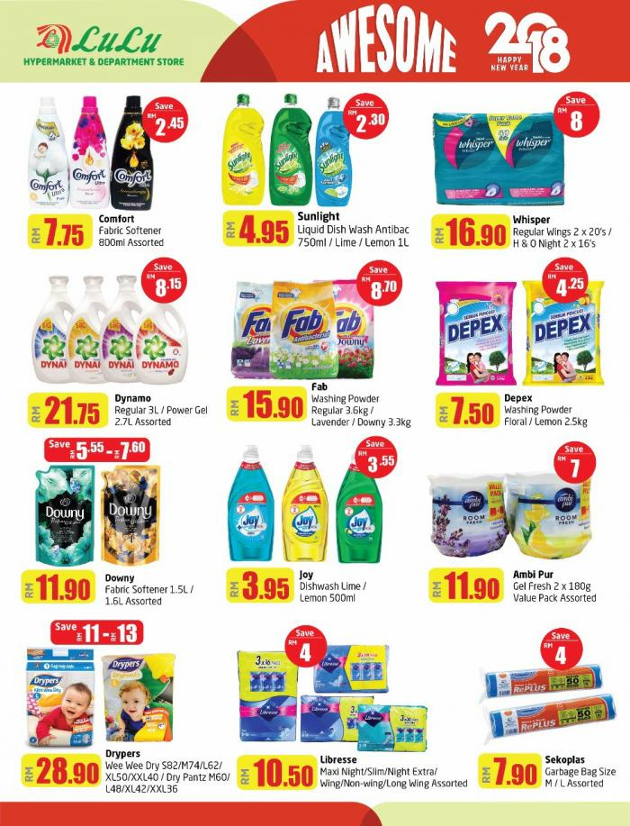 LuLu Hypermarket Awesome 2018 Deals Promotion Catalogue (5