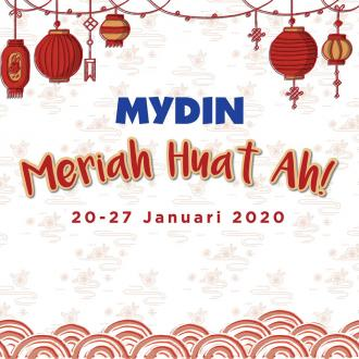 MYDIN Chinese New Year Promotion at 7 Outlets (20 January 2020 - 27 January 2020)
