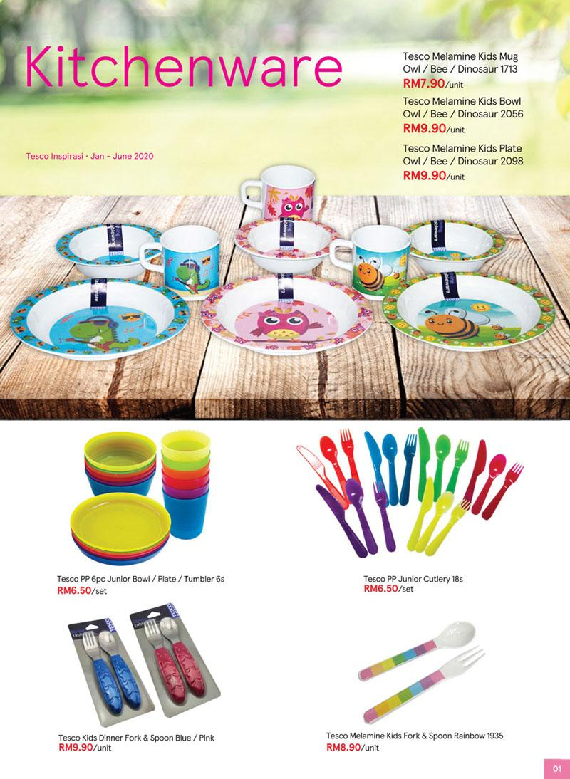Tesco Inspirasi Promotion Catalogue (1 January 2020 - 30 June 2020)
