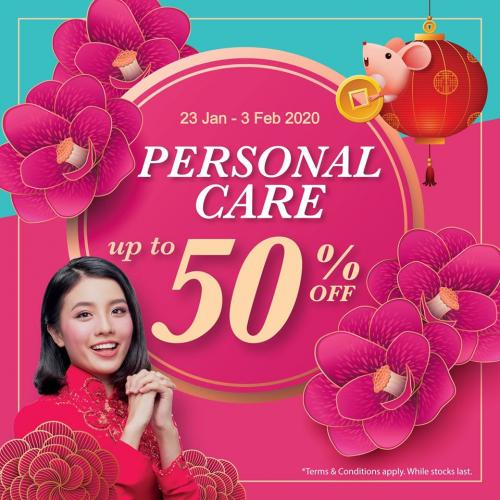 AEON Wellness CNY Personal Care Products Promotion Up To 50% OFF (23 January 2020 - 3 February 2020)