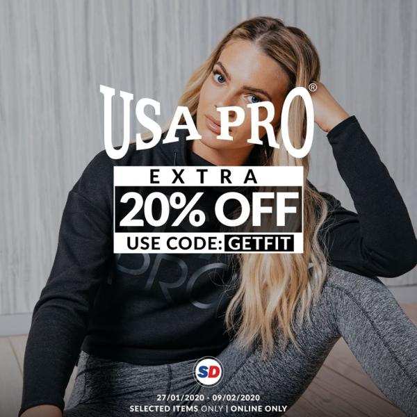 Sports Direct USA Pro CNY Sale Extra 20% OFF (27 January 2020 - 9 February 2020)