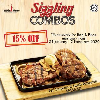 NY Steak Shack Sizzling Combos 15% OFF Promotion (24 January 2020 - 2 February 2020)